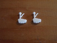 1:24/1:25 Scale B&M Auto Shifters Set of 2