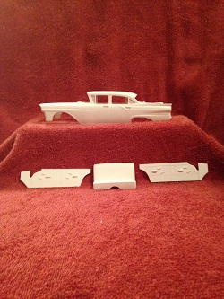 57 Ford Custom 4 Door Resin Body Kit