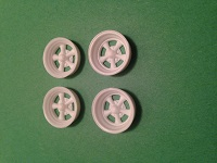 1/25 Cragar SS wheels 2 front, 2 rear