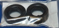 Cheater Slicks Set of 2 (Cast in Black Resin)