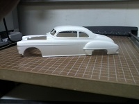 RESIN Chopped 50 Olds Body