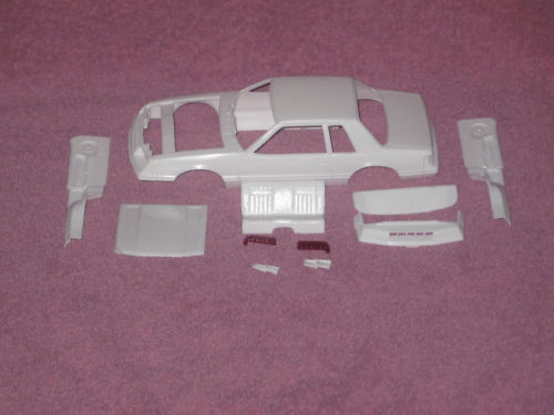 79 Mustang Coupe Resin Body Kit